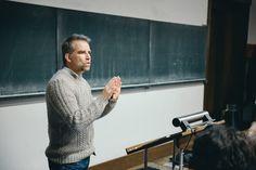 Jan Boelen na UMPRUM. Foto: Jakub Hrab.