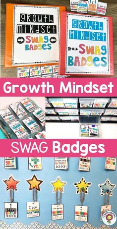 #GrowthMindset Swag Badges - Recognize and reward your upper elementary 2nd, 3rd, 4th, and 5th grade students. You get 55 different swag badges for your classroom. Manage your students and reinforce positive behavior in a fun way. Increase student engagement and motivation. It's a classroom incentive system that won't require you to constantly be buying prices or candy. #2ndGrade #3rdGrade #4thGrade #5thGrade Behavior Management Strategies, Behavior Rewards, Classroom Management, Classroom Incentives, 5th Grade Classroom, School Themes, Beginning Of School, Student Engagement, Growth Mindset