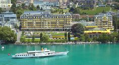 Booking.com: Hôtel Fairmont Montreux Palace - Montreux, Suisse
