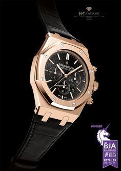 Audemars Piguet Royal Oak Chronograph Rose Gold - ref 26320OR.OO.D002CR.01