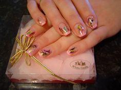 Butterfly Nail Art Designs | Beautiful Pink Butterfly Nail Art Design - Nail Art