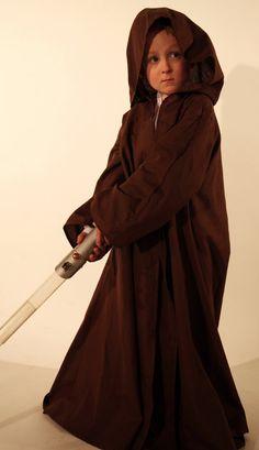 Childrens Jedi Robe  Star Wars Fancy Dress costumes by Kenickys, £29.99