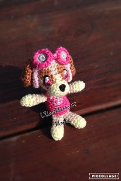 Skye - Paw Patrol - creation and pattern made by L'Uncimatto di Monia @uncimatto #madeinfacebook #lemaddine #handmade #handcrafted #picoftheday #cool #cute #crochet #crocheting #crochetaddict #amigurumi #cartoon #pawpatrol #dog #skye #pink