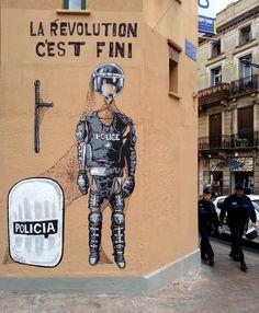 """""""La révolution c'est fini / Revolution is over"""". Vinz"""