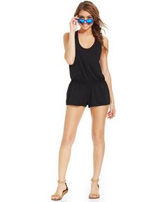 Miken Racerback Romper Cover Up - Swimwear - Women - Macy's. Just got this