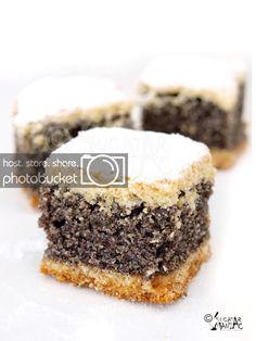 Mac, Food Cakes, Easy Desserts, Biscotti, Cake Recipes, Cheesecake, Poppy, Blog, Sheet Cakes
