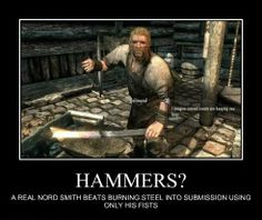 True story. ;) Found this on the Skyrim Memes page.