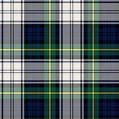 Gordon Dress Modern Tartan, all in the family.  Our Marrs line in Scotland married into the Gordon clan.