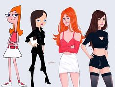 icu ~ ❗️YOU'RE BUSTED ❗️ Candace and Vanessa 🌟omg i miss phineas and ferb so so so much! 🌟 questio ~ ❗️YOU'RE BUSTED ❗️ Candace and Vanessa 🌟omg i miss phineas and ferb so so so much! Cartoon As Anime, Cartoon Shows, Cartoon Art, Cartoon Characters As Humans, Modern Disney Characters, Old Cartoons, Disney Cartoons, Cute Disney, Disney Art
