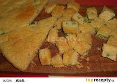 Svítek s hráškem do polévky recept - TopRecepty.cz Spanakopita, Cornbread, Soup, Cheese, Ethnic Recipes, Millet Bread, Soups, Corn Bread