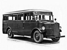 Tatra T27 - 1931 Bus Coach, Kubota, Motorhome, Chevy, Trucks, Vehicles, Coaches, Agriculture, Construction