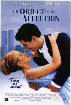 The Object of My Affection (1998) Starring Jennifer Aniston, Paul Rudd