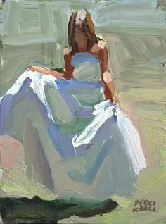 Painting People, Figure Painting, Painting & Drawing, Painting Lessons, Peggi Kroll Roberts, Paintings I Love, Beautiful Paintings, Abstract Portrait, Knife Painting