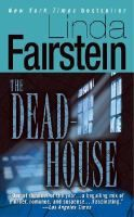"The Dead-House by Linda Fairstein- ""During the holiday season, Lola Dakota, a respected professor from one of New York's most elite colleges is strangled and dumped in an elevator shaft. A piece of paper in her pocket reads ""The Deadhouse."" Assistant DA Alexandrea Cooper uncovers a distressing pattern of betrayal and terror while dealing with the case."""