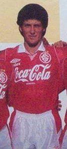 Márcio, o bom volante foi campeão da Copa do Brasil de 1992.