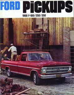 Ford Pickups Brochure 1968 F-100/F-250/F-350: