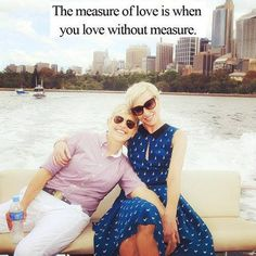 The measure of love is when you love without measure.