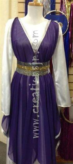 Purple garment