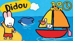 Didou, dessine-moi la mer   Compilation   Dessins animés pour les enfants