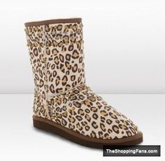 cute leopard print boots  The Shopping Fans