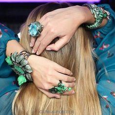 These masterpieces from @lydiacourteille just blow me away!  Great pics by @gemaporterblog #jewelleryporn #jewelgasm #jewelleryaddict #jewelart #jewelgram #mrsortonsinstaglam