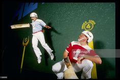 General view of the action during a jai alai game in Tampa, Florida. Mandatory Credit: Scott Halleran /Allsport
