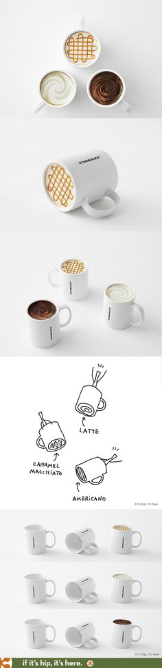 Nendo Designs Coffee Mugs For Starbucks That Never Need A Refill.