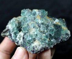 Gemmy-Green-Octahedron-Fluorite-Mineral-Specimen-Huanggang-Mine-China-CM641508