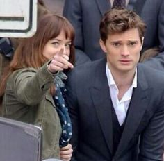 Jamie Dornan as Christian Grey. I could stare into your eyes forever. Behind the scenes of the 50 Shades of Grey set