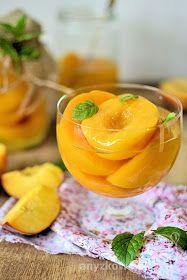Anyżkowo: Brzoskwinie w syropie Freezer, Cantaloupe, Fruit, Food, Chest Freezer, Freezers, Hoods, Meals