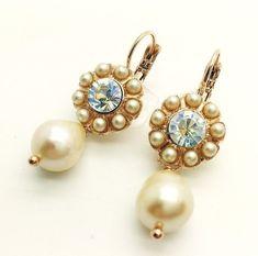 9ea70974a Details about Mariana Jewelry Earrings Set Crystal Swarovski Women  Lever-Back