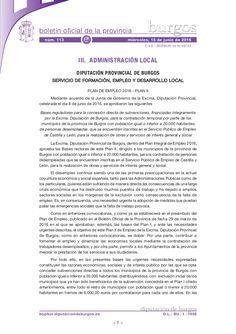 Bases reguladoras para la concesión directa de subvenciones, financiadas íntegramente por la Excma. Diputación de Burgos, para la contratación temporal por par…