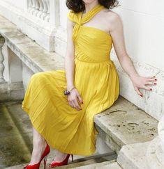 Charming Prom Dress,Yellow Prom Dress,Fashion Prom Dress,Sexy Party Dress, New Style Evening Dress