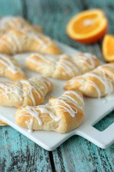 Orange Danish Cresce