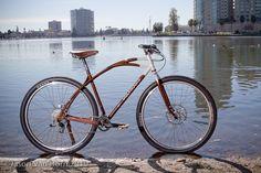 The built up RetroHound, shot near Jason's home in Oakland, California. Love this bike!