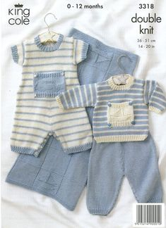 Baby Knitting Patterns - lupin and rose