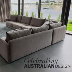 Enjoy quality and timeless design with the #Brodie. Made of individual pieces that seamlessly come together to form a lounge size of your choice.