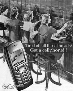 Vintage Advertisement of Modern Technology
