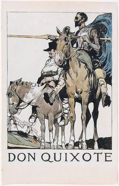 Don Quixote (Illustration)  |  Edward Hopper...