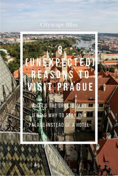 Wondering where to go in Prague & what to do - other than what TripAdvisor says? Here's 8 UNEXPECTED reasons why you should visit Prague - and what you must not miss! Including vintage porn cinema, grotto & tons of antique shops!✈️​  Cityscape Bliss // 8 (unexpected) reasons to visit Prague