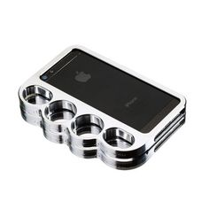 My design inspiration: Knucklecase iPhone 5/5S Silver on Fab.