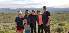 3.2.2019 - Atmosphere team members participate in St. Joseph The Worker's Hike for the Homeless in McDowell Mountain Park.