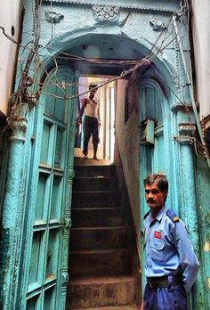 Old Delhi....a doorway and every journey starts on the threshold