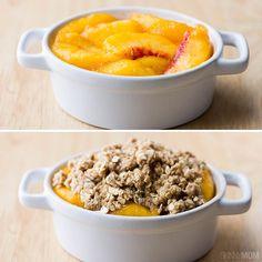Recipe:+Skinny+Peach+Crumble