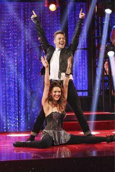 Derek & Amy swing dance