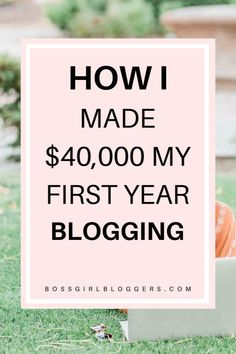 Blogging income report. How I make a full time income blogging. Have you always wondered if it's possible to make money blogging? Here's how!