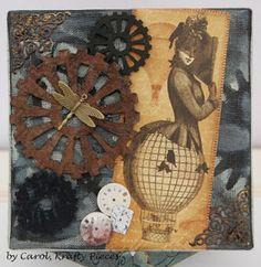 Tando Creative: steampunk canvas