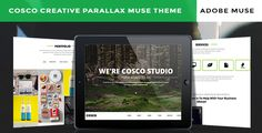 Cosco Creative Parallax Muse Template is a finely crafted Muse theme, with a clean ultra-modern design for easy customization. Developed and decoded using MUSE CC 2014 the theme adds a real definition in telling your tale with style.