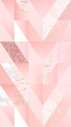 ideas wallpaper iphone art design inspiration for 2019 Geometric Wallpaper Iphone, Rose Gold Wallpaper, Cool Wallpaper, Pattern Wallpaper, Wallpaper Backgrounds, Iphone Wallpaper, Backgrounds Girly, Disney Wallpaper, Wallpaper Quotes