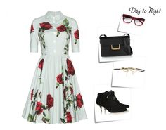 """""""Day to Night: Shirt Dress"""" by danielle-487 ❤ liked on Polyvore"""